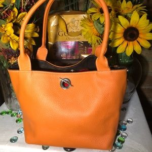 Cute Orange Tote Bag